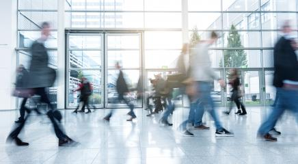 Abstract Image of Business People Walking - Stock Photo or Stock Video of rcfotostock | RC-Photo-Stock