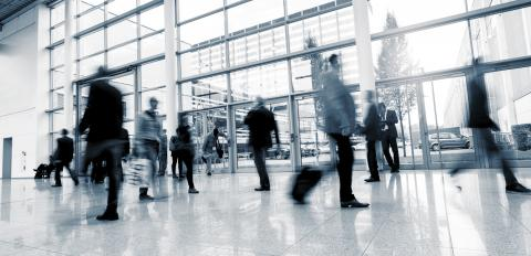 Abstract Image of Business People Walking - Stock Photo or Stock Video of rcfotostock   RC-Photo-Stock