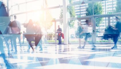 Abstract Image of Business People Walking on the Street- Stock Photo or Stock Video of rcfotostock | RC-Photo-Stock