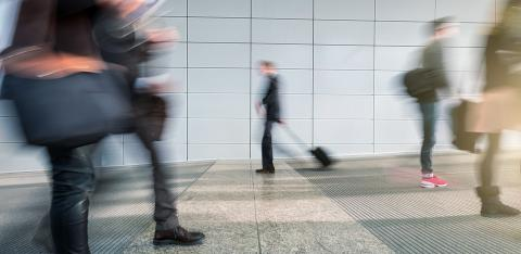 Abstract Image of commuters Walking on a floor- Stock Photo or Stock Video of rcfotostock | RC-Photo-Stock