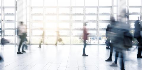 Abstract Image of People Walking motion blur- Stock Photo or Stock Video of rcfotostock | RC-Photo-Stock