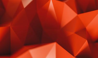 Abstract low poly red colored background of triangles - 3D rendering - Illustration- Stock Photo or Stock Video of rcfotostock | RC-Photo-Stock
