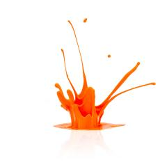 abstract orange paint splashing- Stock Photo or Stock Video of rcfotostock | RC-Photo-Stock