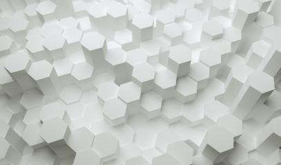 Abstract paper Hexagon white Background - 3D rendering - Illustration- Stock Photo or Stock Video of rcfotostock   RC-Photo-Stock