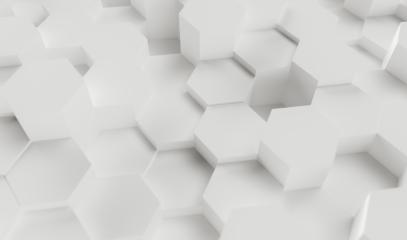 Abstract paper Hexagon white Background - 3D rendering - Illustration - Stock Photo or Stock Video of rcfotostock   RC-Photo-Stock