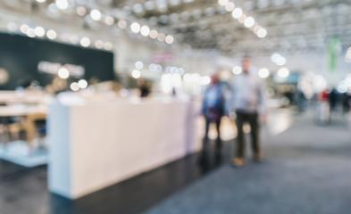 Abstract people in a trade show hall event background usage- Stock Photo or Stock Video of rcfotostock   RC-Photo-Stock