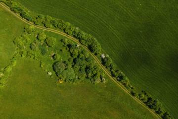 Aerial view of a path in a landscape- Stock Photo or Stock Video of rcfotostock | RC-Photo-Stock