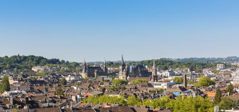 aerial view of Aachen- Stock Photo or Stock Video of rcfotostock | RC-Photo-Stock