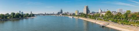 Aerial view of Cologne panorama- Stock Photo or Stock Video of rcfotostock | RC-Photo-Stock