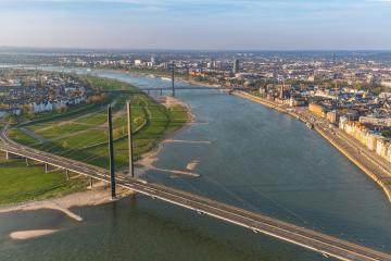 Aerial view of Dusseldorf : Stock Photo or Stock Video Download rcfotostock photos, images and assets rcfotostock | RC-Photo-Stock.: