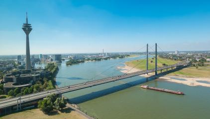 aerial view of Dusseldorf (NRW) germany- Stock Photo or Stock Video of rcfotostock | RC-Photo-Stock