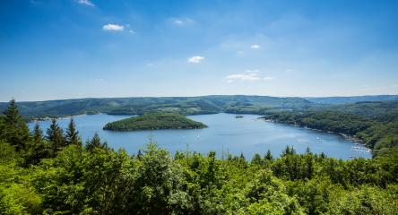aerial view of the Rursee lake : Stock Photo or Stock Video Download rcfotostock photos, images and assets rcfotostock | RC-Photo-Stock.: