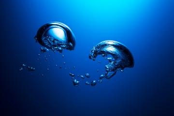 Air bubbles underwater : Stock Photo or Stock Video Download rcfotostock photos, images and assets rcfotostock | RC-Photo-Stock.: