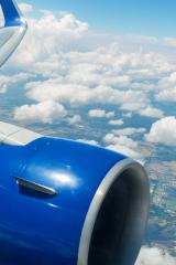 Airplane window view over the clouds- Stock Photo or Stock Video of rcfotostock | RC-Photo-Stock