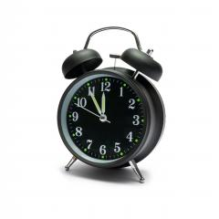 Alarm clock isolated on white background - Stock Photo or Stock Video of rcfotostock | RC-Photo-Stock