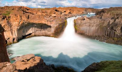 Aldeyjarfoss waterfall in iceland : Stock Photo or Stock Video Download rcfotostock photos, images and assets rcfotostock | RC-Photo-Stock.: