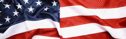 American Flag Wave for Memorial Day or 4th of July, banner size- Stock Photo or Stock Video of rcfotostock | RC-Photo-Stock