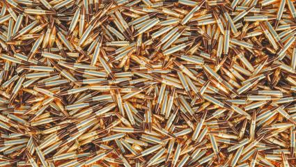 Ammunition 5.56 mm bullets - 3D Rendering- Stock Photo or Stock Video of rcfotostock | RC-Photo-Stock