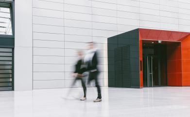 anonymous blurred business people in a modern floor- Stock Photo or Stock Video of rcfotostock | RC-Photo-Stock
