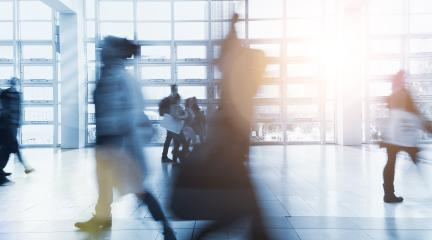 Anonymous blurred business people walking- Stock Photo or Stock Video of rcfotostock | RC-Photo-Stock
