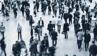 Anonymous Blurred business people walking in a office center : Stock Photo or Stock Video Download rcfotostock photos, images and assets rcfotostock | RC-Photo-Stock.: