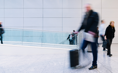 Anonymous blurry businessman after termination or job change- Stock Photo or Stock Video of rcfotostock | RC-Photo-Stock
