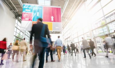 Anonymous business people at a trade fair : Stock Photo or Stock Video Download rcfotostock photos, images and assets rcfotostock | RC-Photo-Stock.: