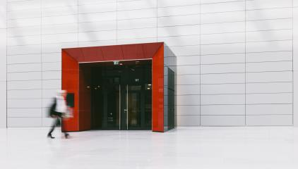 anonymous business people in a modern corridor- Stock Photo or Stock Video of rcfotostock | RC-Photo-Stock