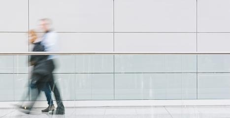 anonymous business people walking in a corridor- Stock Photo or Stock Video of rcfotostock | RC-Photo-Stock