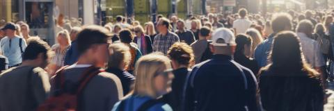 anonymous crowd of people walking- Stock Photo or Stock Video of rcfotostock | RC-Photo-Stock