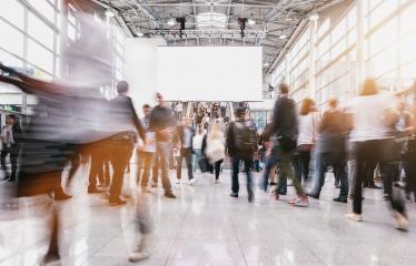 anonymous people at a trade fair  : Stock Photo or Stock Video Download rcfotostock photos, images and assets rcfotostock | RC-Photo-Stock.: