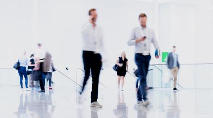 Anonymous people go through hall in business office : Stock Photo or Stock Video Download rcfotostock photos, images and assets rcfotostock | RC-Photo-Stock.: