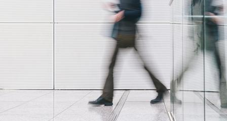 anonymous people rushing in a corridor- Stock Photo or Stock Video of rcfotostock | RC-Photo-Stock