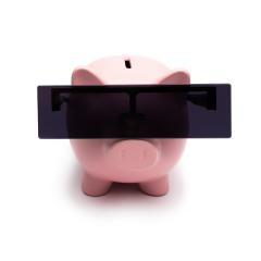 anonymous Piggy bank on white background- Stock Photo or Stock Video of rcfotostock | RC-Photo-Stock