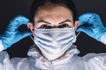 Anti virus protection mask to prevent corona COVID-19 and SARS infection- Stock Photo or Stock Video of rcfotostock | RC-Photo-Stock