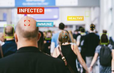 App scanning and tracking large crowd of people in a the streets of london to protect their health and social behavior for Covid-19 Coronavirus. Big data monitoring motion profile - Stock Photo or Stock Video of rcfotostock | RC-Photo-Stock