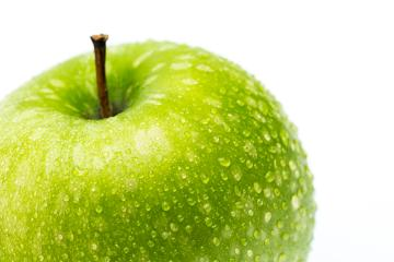 apple with rain drops- Stock Photo or Stock Video of rcfotostock | RC-Photo-Stock
