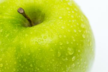 apple with waterdrops : Stock Photo or Stock Video Download rcfotostock photos, images and assets rcfotostock | RC-Photo-Stock.: