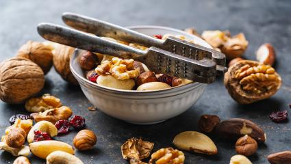 assortment of nuts with Nutcracker- Stock Photo or Stock Video of rcfotostock | RC-Photo-Stock