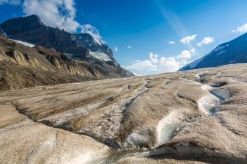Athabasca Glacier in the Columbia Icefields, British Columbia, Canada : Stock Photo or Stock Video Download rcfotostock photos, images and assets rcfotostock | RC-Photo-Stock.: