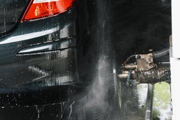 Automatic car wash brush in action- Stock Photo or Stock Video of rcfotostock | RC-Photo-Stock