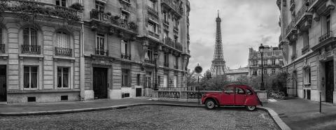 Avenue de Camoens in Paris panorama- Stock Photo or Stock Video of rcfotostock | RC-Photo-Stock