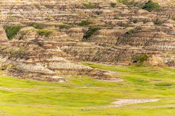 Badland mountains in canada albert - Stock Photo or Stock Video of rcfotostock | RC-Photo-Stock