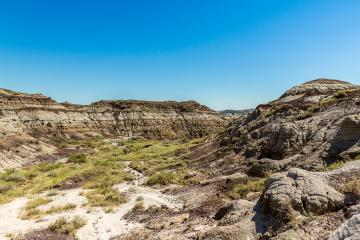 Badlands in Drumheller Canada- Stock Photo or Stock Video of rcfotostock | RC-Photo-Stock