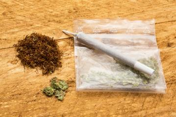 bag of marijuana and with a joint- Stock Photo or Stock Video of rcfotostock | RC-Photo-Stock