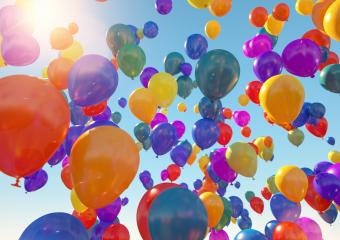 Balloons Flying to the blue sky with sunlight - 3D Rendering : Stock Photo or Stock Video Download rcfotostock photos, images and assets rcfotostock | RC-Photo-Stock.: