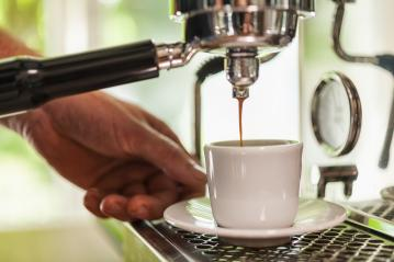 Barista Cafe Making Coffee Preparation- Stock Photo or Stock Video of rcfotostock | RC-Photo-Stock