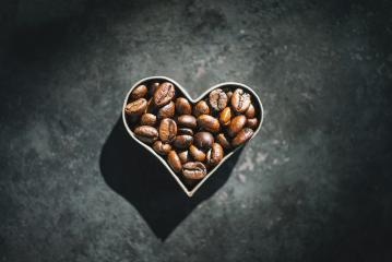 Barista Coffee beans in the form of heart : Stock Photo or Stock Video Download rcfotostock photos, images and assets rcfotostock | RC-Photo-Stock.: