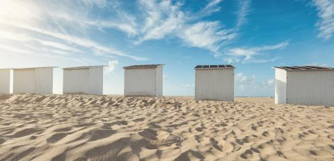 beach huts at the beach  : Stock Photo or Stock Video Download rcfotostock photos, images and assets rcfotostock | RC-Photo-Stock.:
