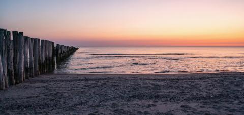 beach view - amazing sunset light at the dusk on the beach- Stock Photo or Stock Video of rcfotostock | RC-Photo-Stock